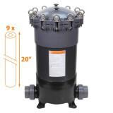 Filtre multi-cartouches FHPVC-20x9-B Crystal Filter® - 9 x 20 pouces