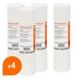 Cartouche SW-50-978-PP sédiment bobinée 9''7/8 - filtre 50 µm - Crystal Filter® (lot de 4)