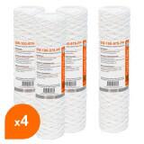 Cartouche SW-100-978-PP sédiment bobinée 9''7/8 - filtre 100 µm - Crystal Filter® (lot de 4)