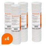 Cartouche SW-20-978-PP sédiment bobinée 9''7/8 - Filtre 20m - Crystal Filter® (lot de 4)