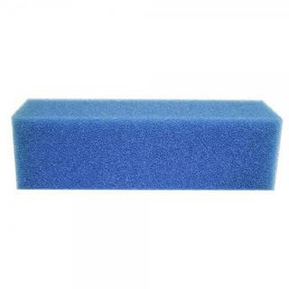 Mousse de filtration bleue