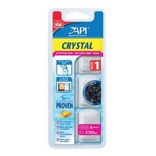 Filtre aquarium API Rena Crystal Size 1 (x6 filtres)