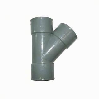 Té Y 45° égal 32 mm PVC évacuation