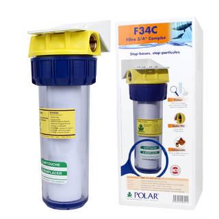 Filtre F34C Polar™ - Standard anti-boue et particules avec clé