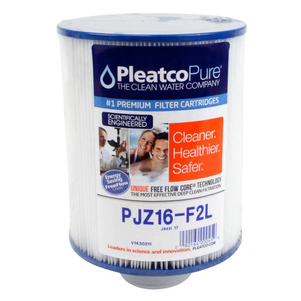 filtre pjz16 f2l pleatco standard compatible jazzi 17 sf filtre spa bain remous 007123. Black Bedroom Furniture Sets. Home Design Ideas