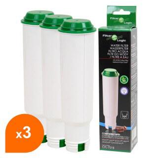 Cartouche Claris Krups F088 compatible - Filtre à eau cafetière CFL-701 (lot de 3)