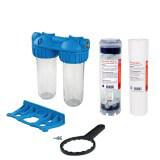 Anti-tartre - Kit Filtration Anticalcaire - Sédiment et Polyphosphate